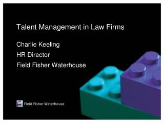 Talent Management in Law Firms