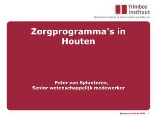 Zorgprogramma's in Houten
