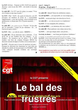 la CGT présente