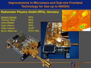 Improvements in Microwave and Sub-mm Frontend Technology for Use up to 900GHz