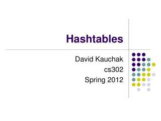 Hashtables