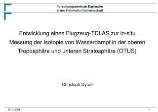 Christoph Dyroff