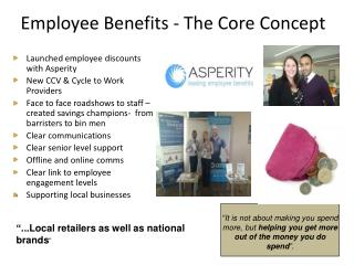 Employee Benefits - The  Core  Concept