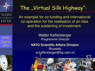 "The ""Virtual Silk Highway"":"
