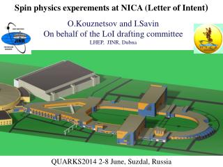 Spin  physics experements at  NICA ( Letter  of  Intent )