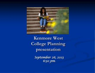 Kenmore West College Planning presentation