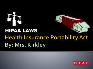 HIPAA LAWS