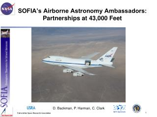 SOFIA's Airborne Astronomy Ambassadors: Partnerships at 43,000 Feet