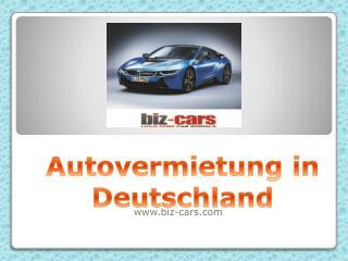Autovermietung in Deutschland