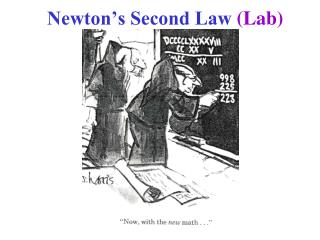 Newton's Second Law (Lab)