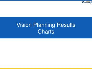 Vision Planning Results  Charts