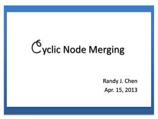 Randy J. Chen Apr. 15, 2013