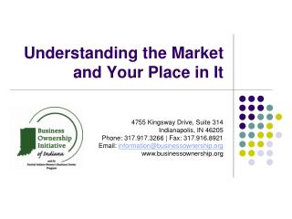 Understanding the Market and Your Place in It