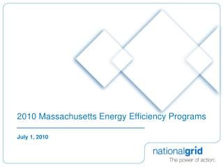 2010 Massachusetts Energy Efficiency Programs