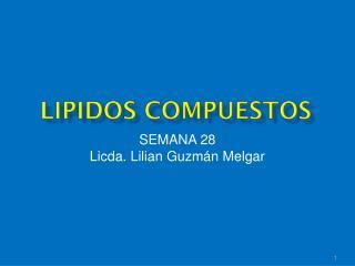 LIPIDOS COMPUESTOS