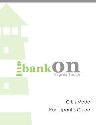 Crisis Mode Participant's Guide