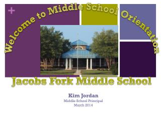 Kim Jordan Middle School Principal March 2014