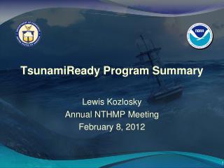 TsunamiReady Program Summary