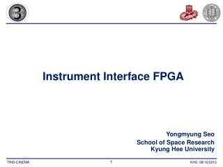 Instrument Interface FPGA