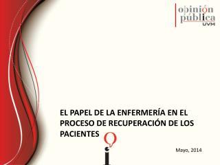 El papel de la enfermería en el proceso de recuperación de los pacientes