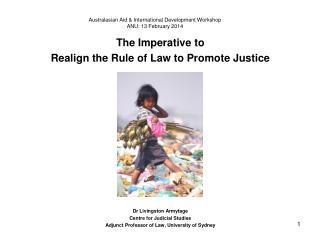 Australasian Aid & International Development Workshop  ANU:  13 February 2014