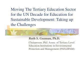 Ruth S. Guzman, Ph.D.