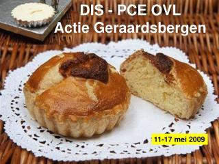 DIS - PCE OVL  Actie Geraardsbergen