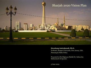 Sharjah 2020 Vision Plan