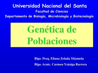 Universidad Nacional del Santa