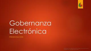 Gobernanza Electrónica
