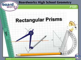 Rectangular Prisms