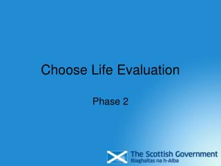 Choose Life Evaluation