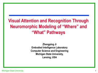 "Visual Attention and Recognition Through Neuromorphic Modeling of ""Where"" and ""What"" Pathways"