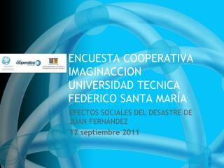 ENCUESTA COOPERATIVA IMAGINACCION UNIVERSIDAD TECNICA FEDERICO SANTA MARÍA