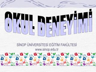 SİNOP ÜNİVERSİTESİ EĞİTİM FAKÜLTESİ sinop.tr