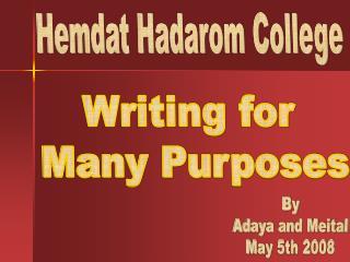 Hemdat Hadarom College