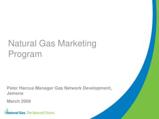 Natural Gas Marketing Program