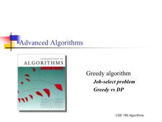 Advanced Algorithms