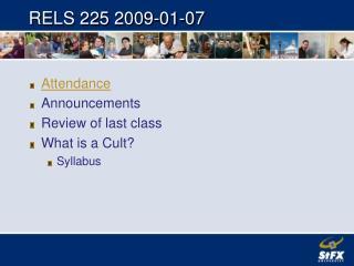 RELS 225 2009-01-07
