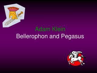 Adam Klein Bellerophon and Pegasus