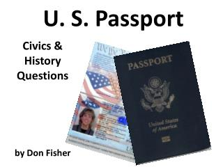 U. S. Passport