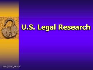 U.S. Legal Research