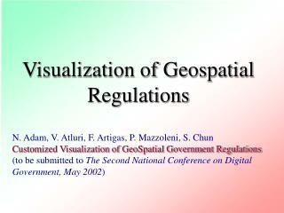 Visualization of Geospatial Regulations
