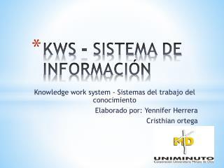 KWS – SISTEMA DE INFORMACIÓN