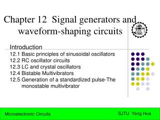 Chapter 12  Signal generators and waveform-shaping circuits