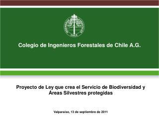 Colegio de Ingenieros Forestales de Chile A.G.