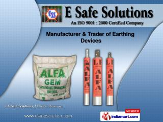 Earthing Filling Compound & Copper Rods