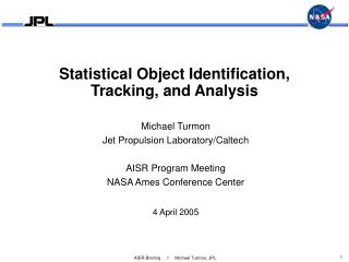 Statistical Object Identification,  Tracking, and Analysis