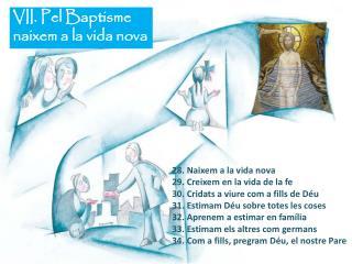 VII. Pel Baptisme  naixem a la vida nova