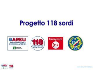 Progetto 118 sordi